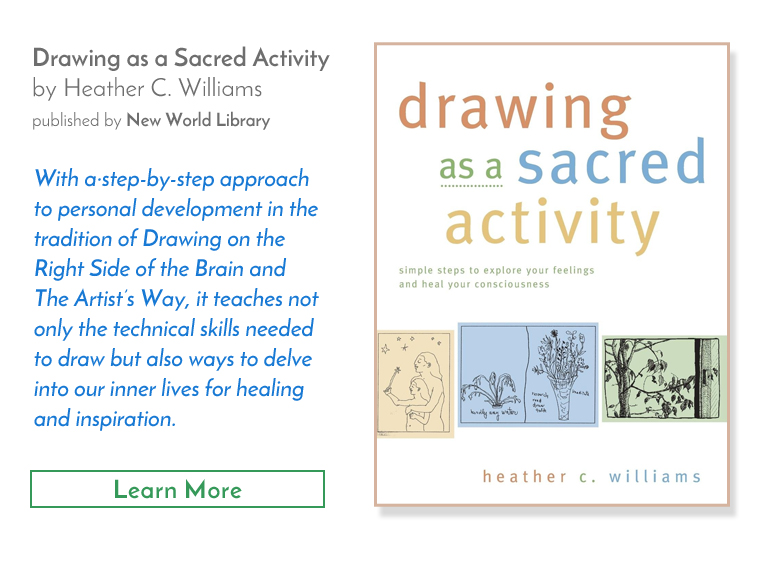 Drawing as a Sacred Activity Book - New World Library